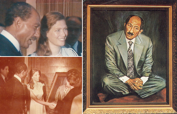 Daphna Margolin And Sadat